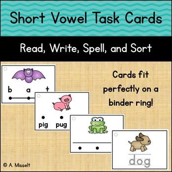 Short Vowel Task Cards