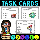 Phonics Short Vowel Task Cards