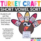 Short Vowel Turkey Craftivity