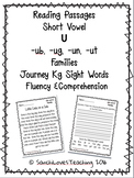 Short Vowel U Families (-ub, -ug, -un, -ut) : Fluency & Comprehension Passages