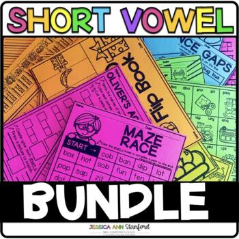 Short Vowel Print & Go Unit