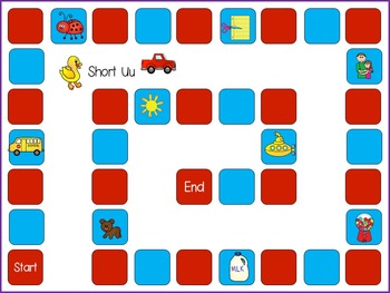 Phonics Short Vowel Uu - Games and Printables
