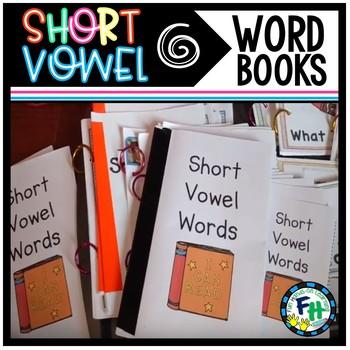 Short Vowel Word Books