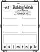 Short Vowel Word Building