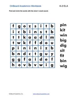Short Vowel Word Families