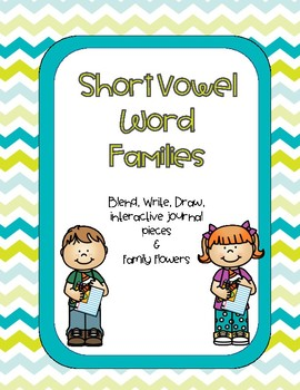 Short Vowel Word Families Activities