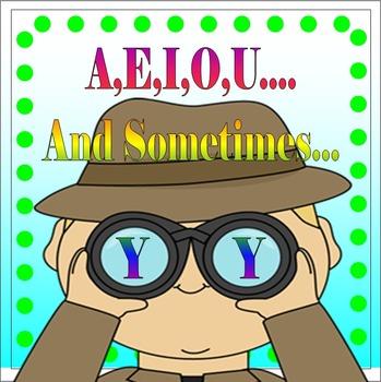 Short Vowel Word Families (A, E, I, O, U & sometimes.....Y!)