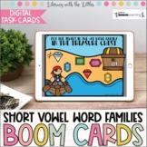 Short Vowel Word Families BOOM Cards | #memorialday2020 |