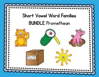 Short Vowel Word Families BUNDLE - Promethean