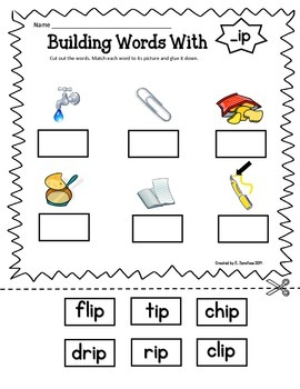 Short Vowel Word Families: Building Words With...
