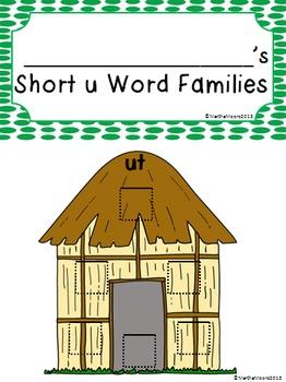 Word Family Short Vowel: File Folder Flippers