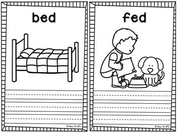 Short Vowel Word Families Little Books BUNDLE of 27 CVC Word Family Books