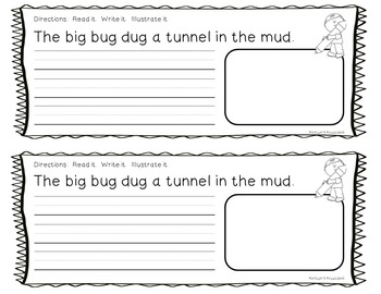 Short Vowel Word Families Reading Racetrack Combo Pack