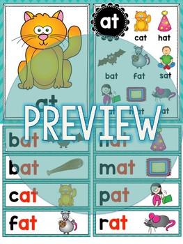 Short Vowel Word Families Word Work Activities Mega Bundle