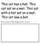 Short Vowel Word Families Word Work Pack