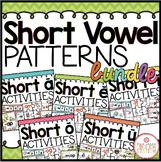 Phonics Short Vowel Activities Bundle