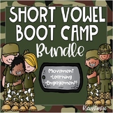 Short Vowel Word Family Boot Camp BUNDLE (50% off for 48 hours!)