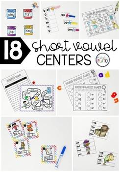 Short Vowel Word Family Bundle