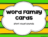 Growing BUNDLE of Word Family Cards