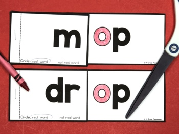 Short Vowel Word Family Flip Books BUNDLE