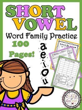 Short Vowel Word Family Fun!