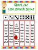 Short Vowel Word Family One Breath Boxes