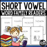 Short Vowel Word Family Phonics Readers