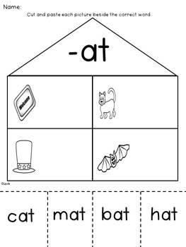 Short Vowel Word Family Word Work {Bundle of 30 Families}
