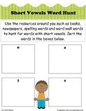 Short Vowel Word Hunt!