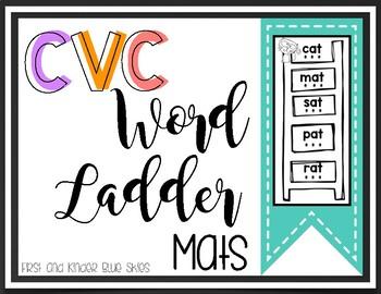 Short Vowel Word Ladder Mats