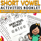 Short Vowel CVC Words Booklet