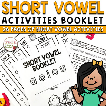 Fun With Short Vowels - Word Lists and Fluency Sentences