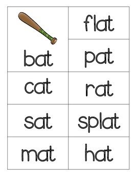 Short Vowel Word Sort Cards for Pocket Charts & More!