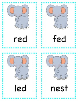Short Vowel Word Sort Literacy Center