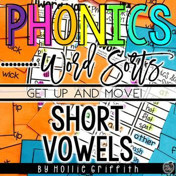 Short Vowel Word Sorts {Get up and MOVE!}