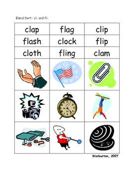 Short Vowel Word Sorts with a Focus on Blends and Digraphs