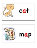 Short Vowel Word Wall Cards (short a and short e)