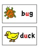 Short Vowel Word Wall Cards (short i, o, and u)