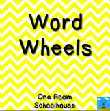 Short Vowel Word Wheels