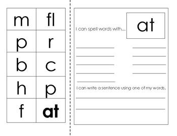 Short Vowel Word Work 14 WORD FAMILIES
