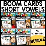 Short Vowel Word Work Boom Cards™ Bundle | Phonemic Awaren