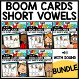 Short Vowel Word Work Boom Cards™ Bundle | Phonemic Awaren