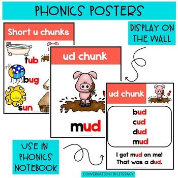 Short Vowel Word Work Posters