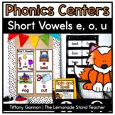 Short Vowel Word Work E, O, and U