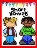 Short Vowel Word/Picture Match and Missing Vowel Worksheet
