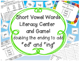Short Vowel Words, Doubling the Ending to Add ed & ing