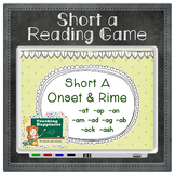 Short Vowel A Word Family Words | Interactive Reading Game | Onset & Rime Style