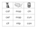 Short Vowel Words Game