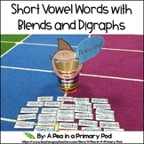 Short Vowel Words with Blends and Digraphs Center (Hungry,