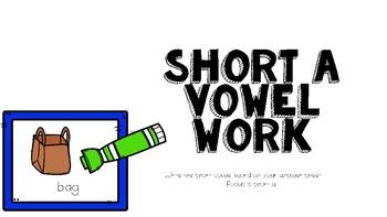 Short Vowel Work: Digital